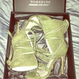 Monika Chiang Wrapped Heels